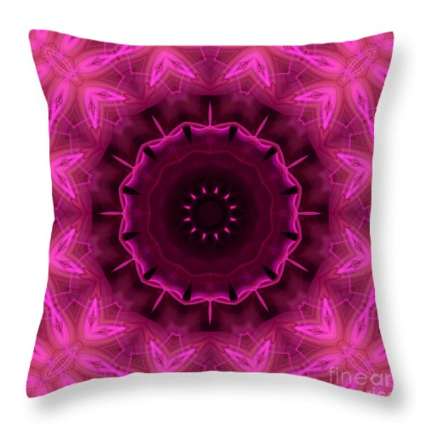 COTTON CANDY Throw Pillow by Hanza Turgul