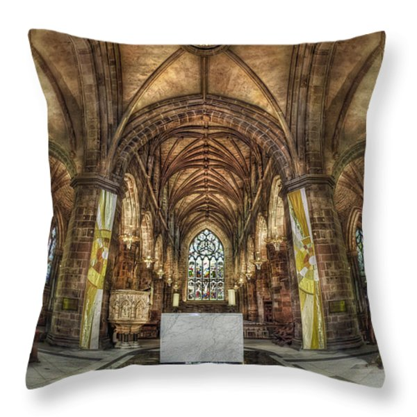 Count Your Blessings Throw Pillow by Evelina Kremsdorf