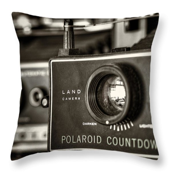 Countdown 70 Throw Pillow by Scott Norris