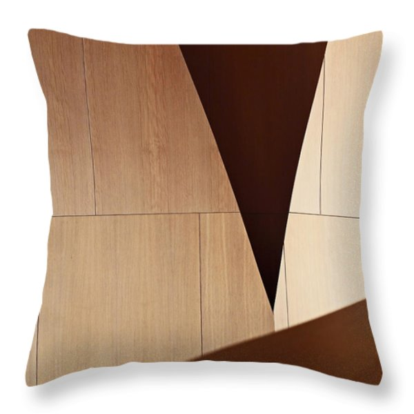 Counterpoint Throw Pillow by Rona Black