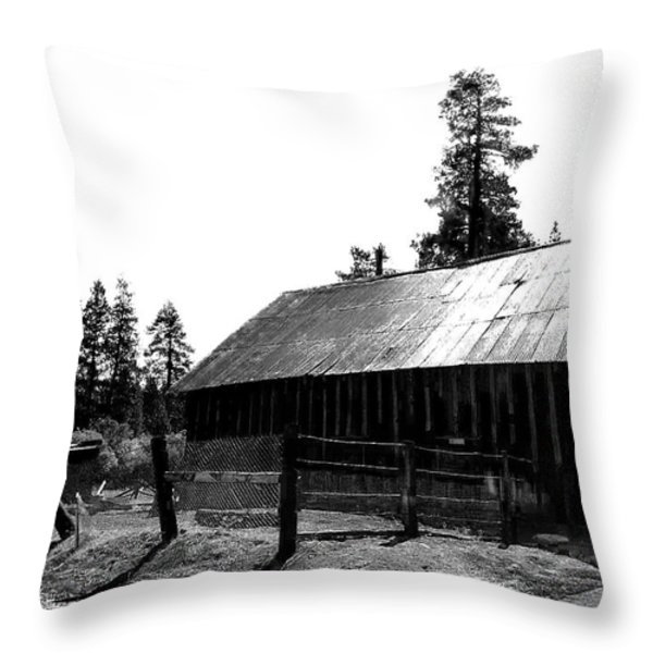 Country Living Throw Pillow by Camille Lopez