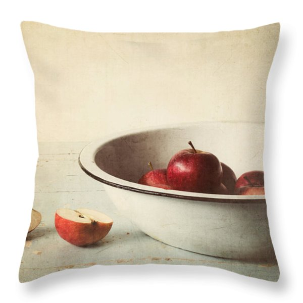 Country Morning Throw Pillow by Amy Weiss