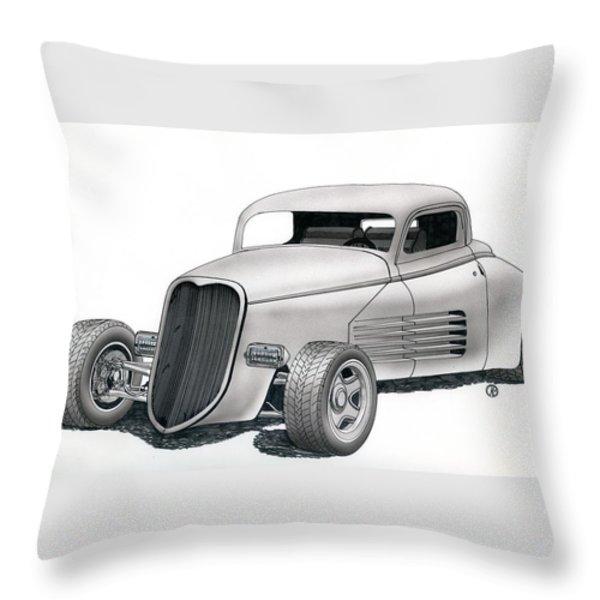 Couparossa Throw Pillow by Rick Bennett