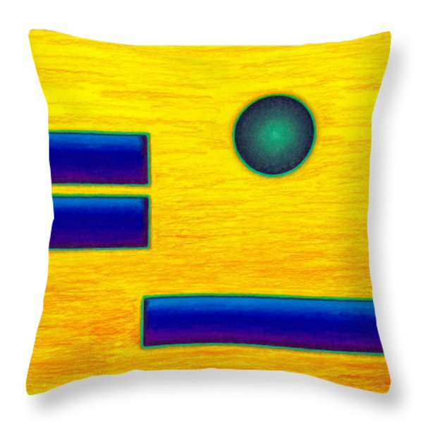Cp031 Throw Pillow by David K Small