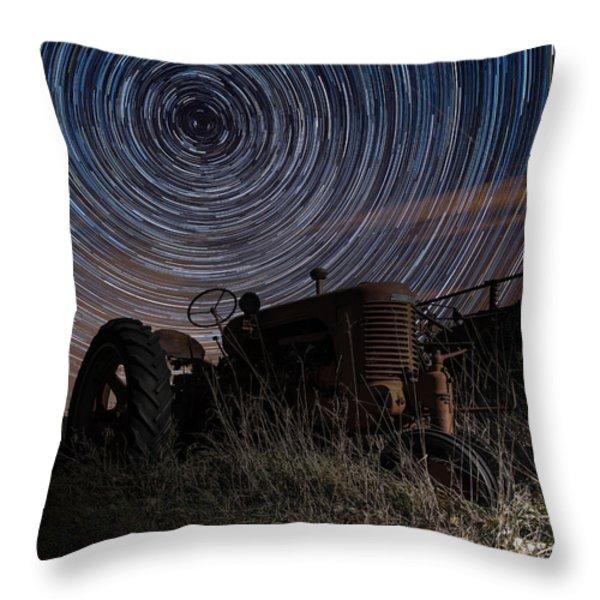 Crop Circles Throw Pillow by Aaron J Groen