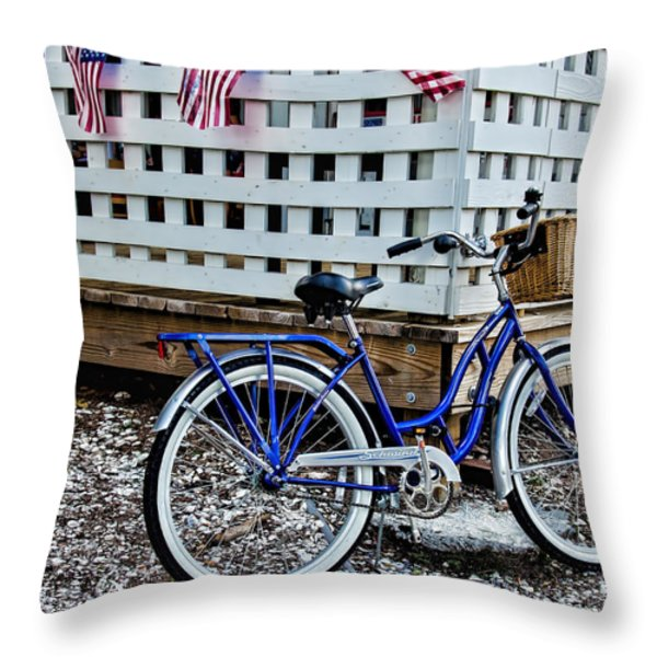 Cruiser Throw Pillow by Ed Waldrop