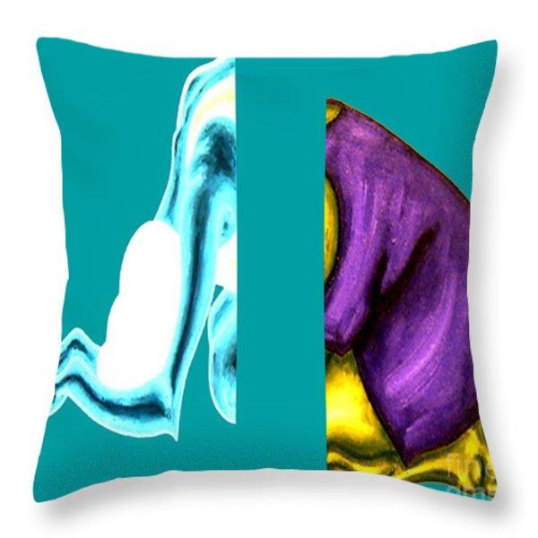 CRUSHING EMOTION Throw Pillow by Patrick J Murphy