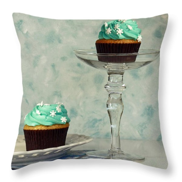 Cupcake Frenzy Throw Pillow by Inspired Nature Photography By Shelley Myke