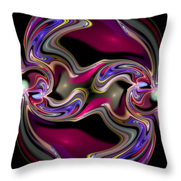 Curbisme-56 Throw Pillow by RochVanh