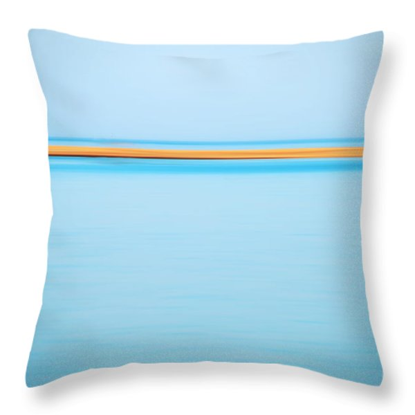 Dahab - Red Sea Throw Pillow by Hannes Cmarits