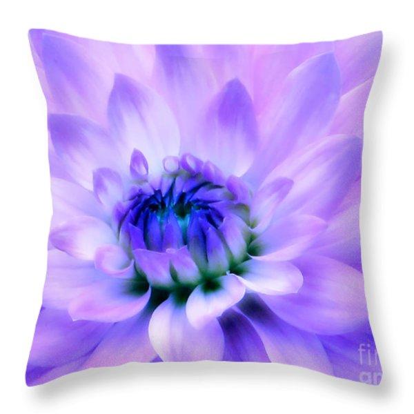 Dahlia Dream Throw Pillow by Rory Sagner