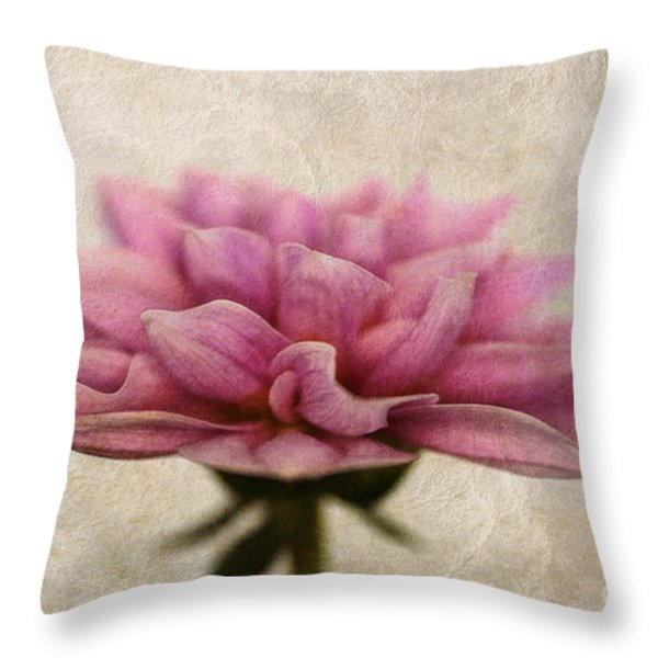 Dahlietta Amy Textured Throw Pillow by John Edwards