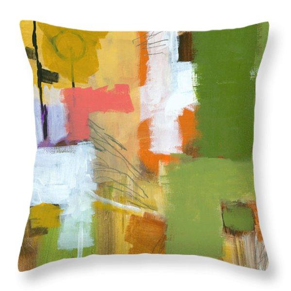 Dakota Street 5 Throw Pillow by Douglas Simonson