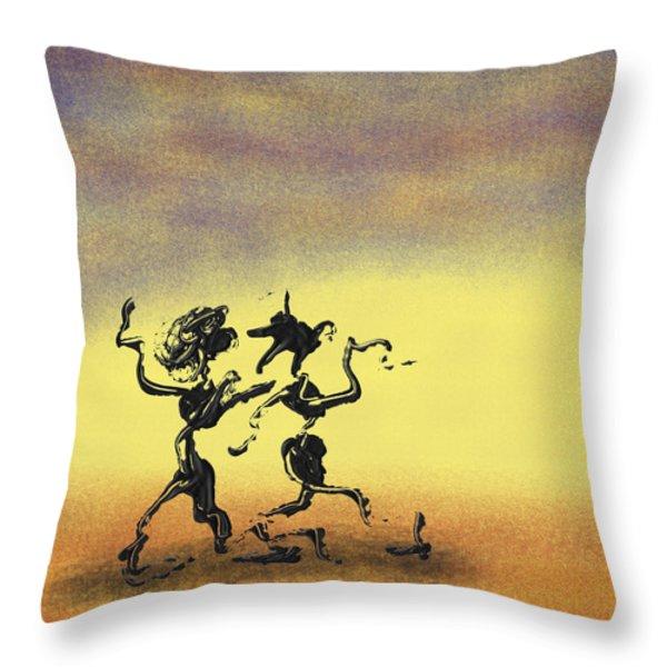 Dance I Throw Pillow by Manuel Sueess