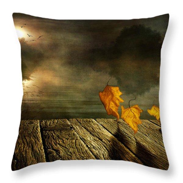 Dance To The Sun Throw Pillow by Veikko Suikkanen