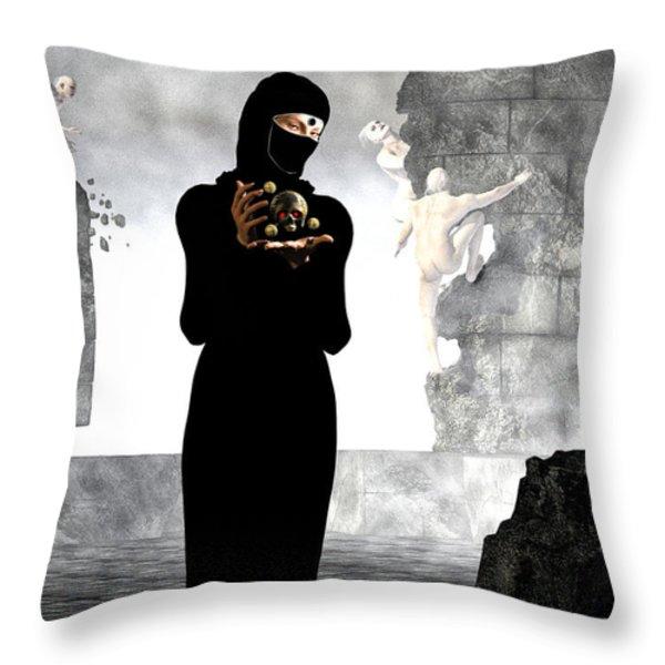 Dantes Dream  Throw Pillow by Bob Orsillo