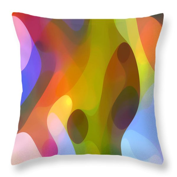 Dappled Art 8 Throw Pillow by Amy Vangsgard