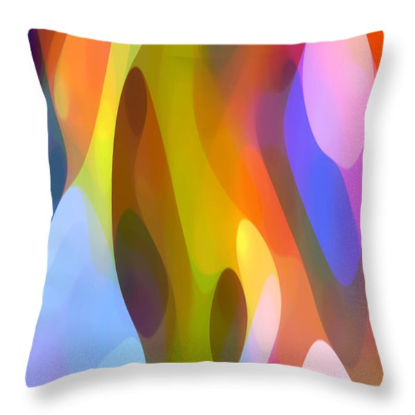 Dappled Light 4 Throw Pillow by Amy Vangsgard