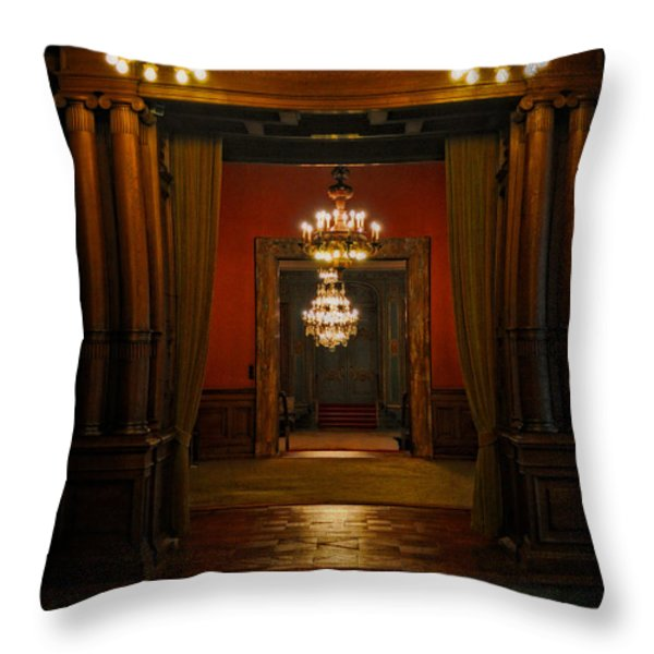 Dark Dreams Throw Pillow by Mary Machare