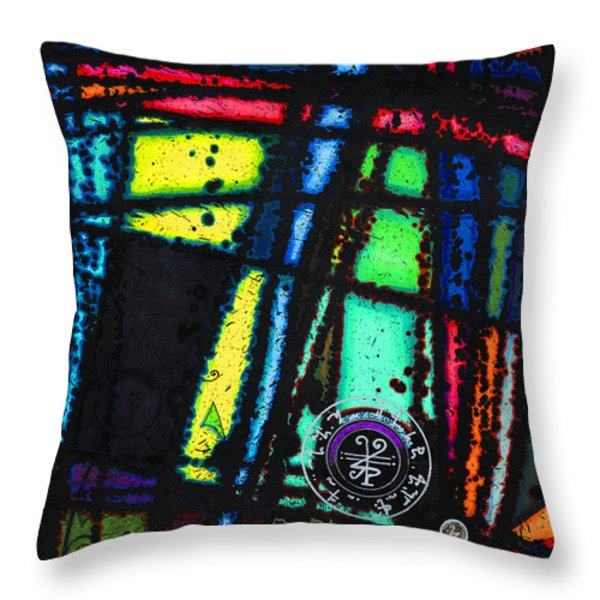 Dark Seal Throw Pillow by Joey Gonzalez
