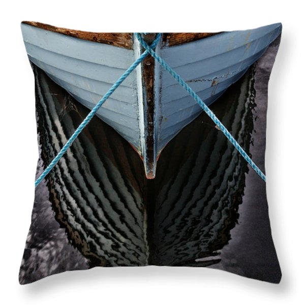 Dark waters Throw Pillow by Stylianos Kleanthous