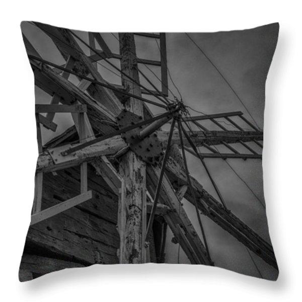 Davidson Windmill Throw Pillow by Paul Freidlund