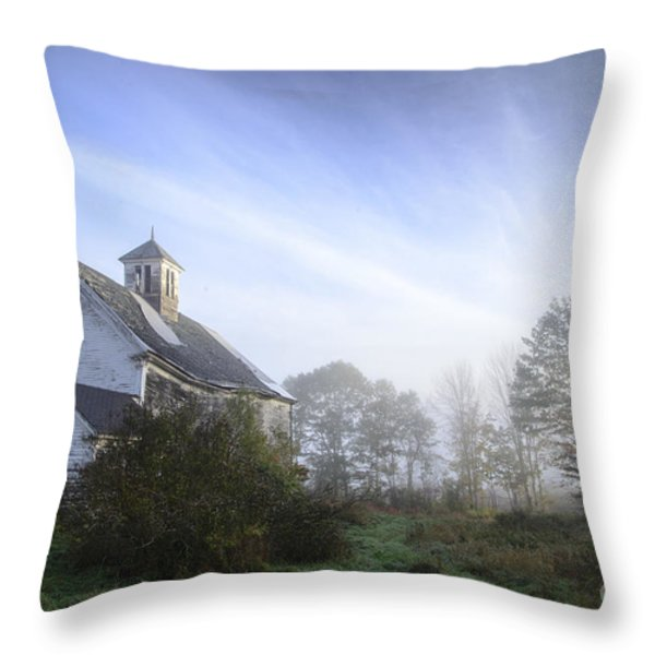 Day Break at the Farm Throw Pillow by Alana Ranney