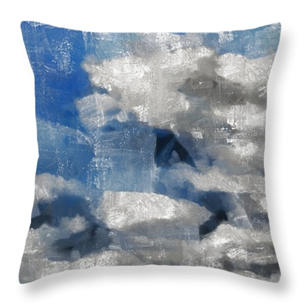 Day Dreamer Throw Pillow by Angelina Vick