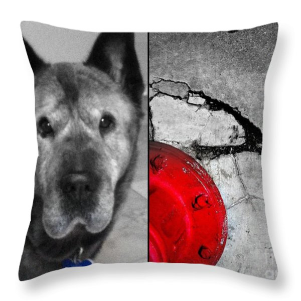 day dreamin' Throw Pillow by Marlene Burns