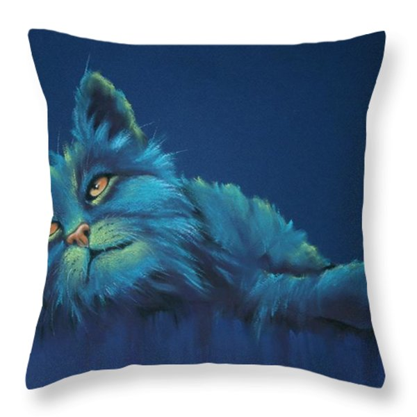 Daydreams Throw Pillow by Cynthia House
