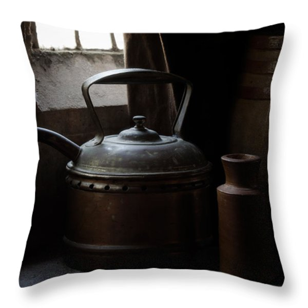 Days of Old Throw Pillow by Amy Weiss