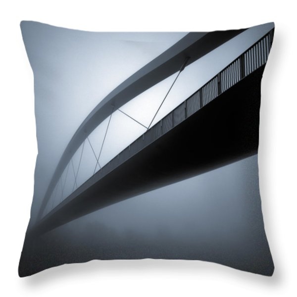 De Hoge Brug Throw Pillow by Dave Bowman