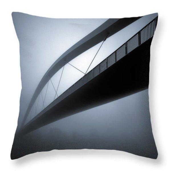 De Hoge Brug Throw Pillow by Dave Bowman