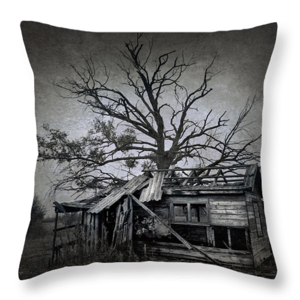 Dead Place Throw Pillow by Svetlana Sewell