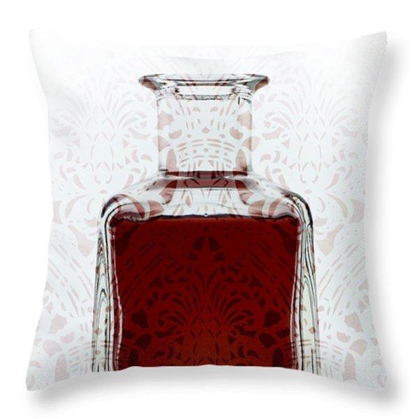 Decant Throw Pillow by Frank Tschakert