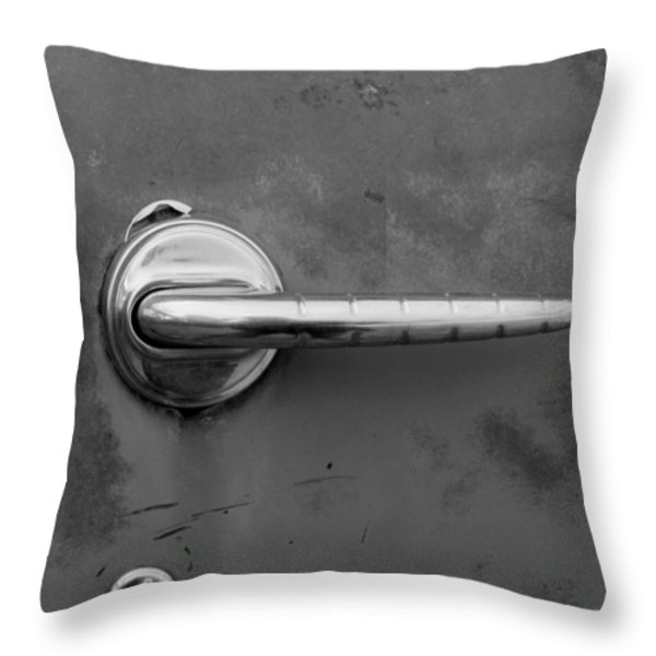 Delicate Balance Throw Pillow by Fran Riley