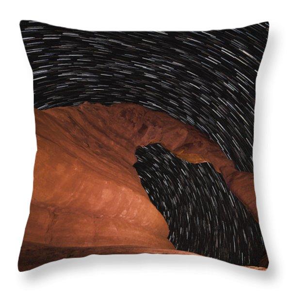 Vertigo Throw Pillow by Dustin  LeFevre