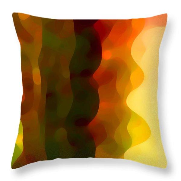 Desert Pattern 3 Throw Pillow by Amy Vangsgard