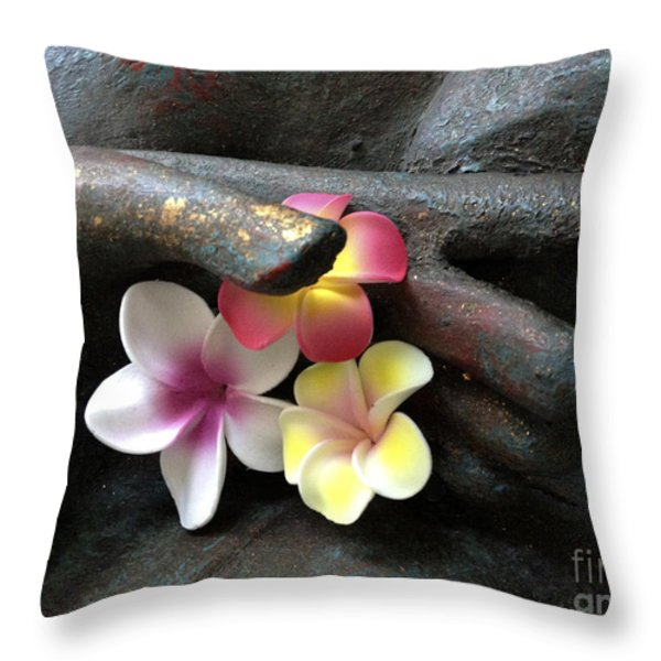 Devotional Throw Pillow by Cheryl Young