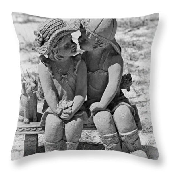 Did I ever tell you Throw Pillow by Christine Till
