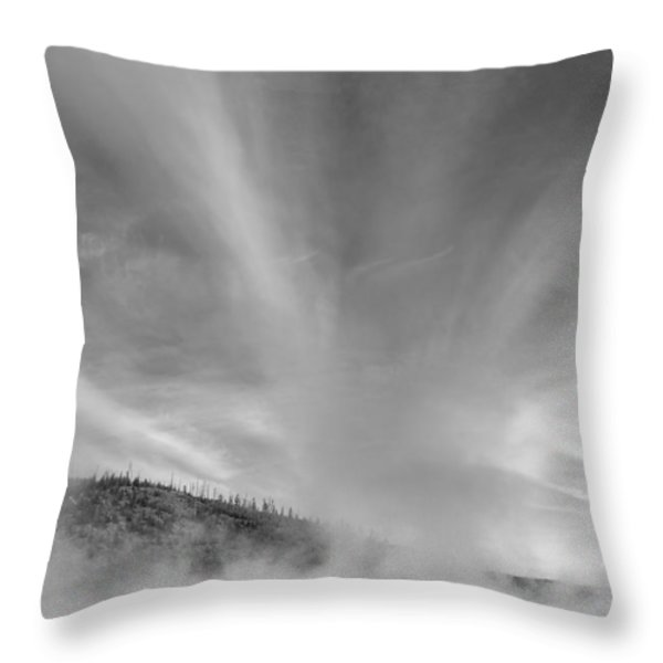 Different Place Throw Pillow by Jon Glaser