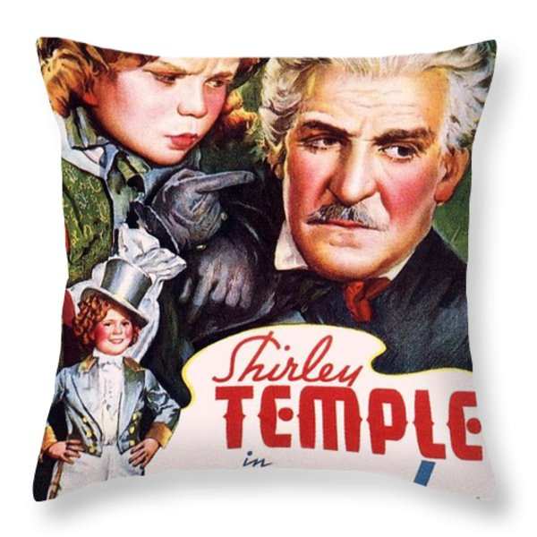 Dimples Throw Pillow by Movie Poster Prints