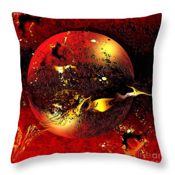 DINYX Throw Pillow by Franziskus Pfleghart