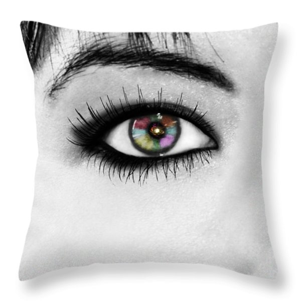 Discernment Throw Pillow by Ester  Rogers
