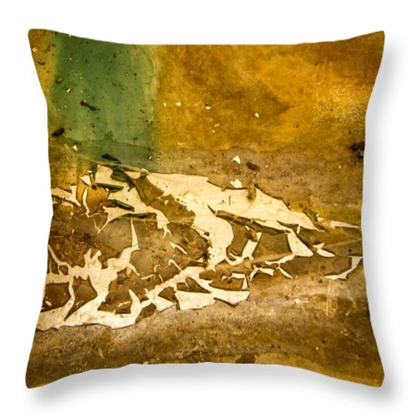 Disgusting Throw Pillow by Jean Noren
