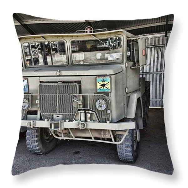 Disposal  Throw Pillow by Douglas Barnard