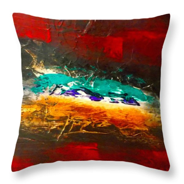 Divine Chaos Throw Pillow by Carolyn Repka