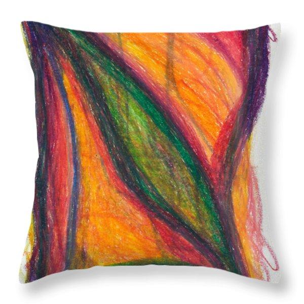 Divine Love Throw Pillow by Daina White