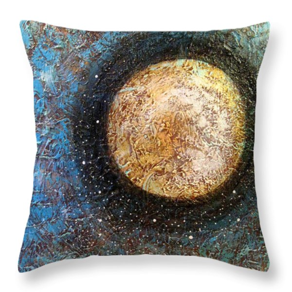 Divine Solitude Throw Pillow by Sharon Cummings