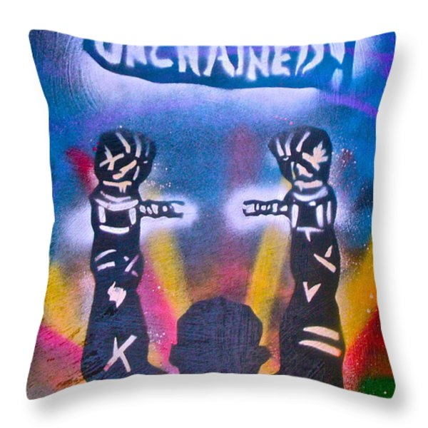 Django Unchained 2 Throw Pillow by Tony B Conscious